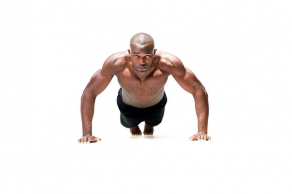 Push-ups for a bigger chest