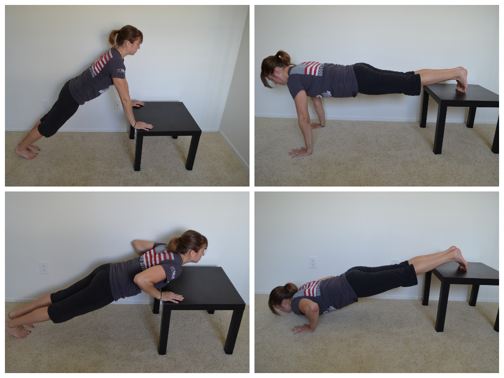 Table Press Up