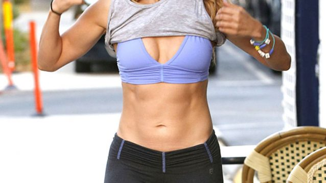fittest actresses