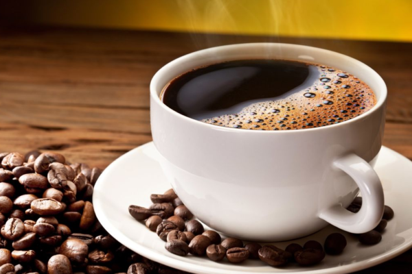is it good to take coffee before running