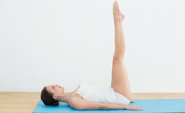 raised foot yoga posture for runners